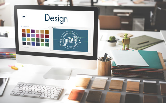 Der Fokus liegt auf dem Corporate Design.