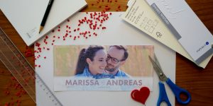 Hochzeitseinladungs-Dummy spart Geld - DORT-Design by Daniela Theil
