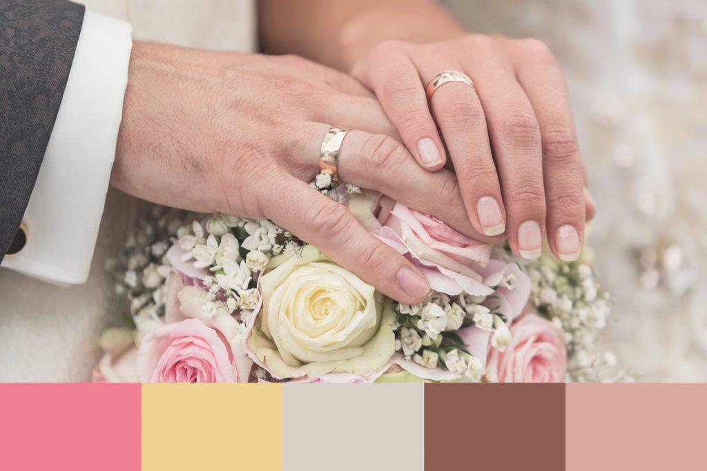 In 3 einfachen Schritten Hochzeitsfarben finden - Farbpalette - Farbkonzept - DORT-DESIGN by Daniela Theil